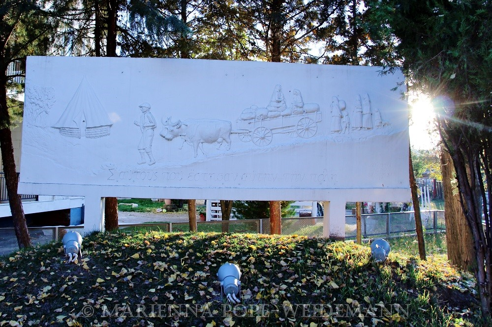 Monument to Refugees blog